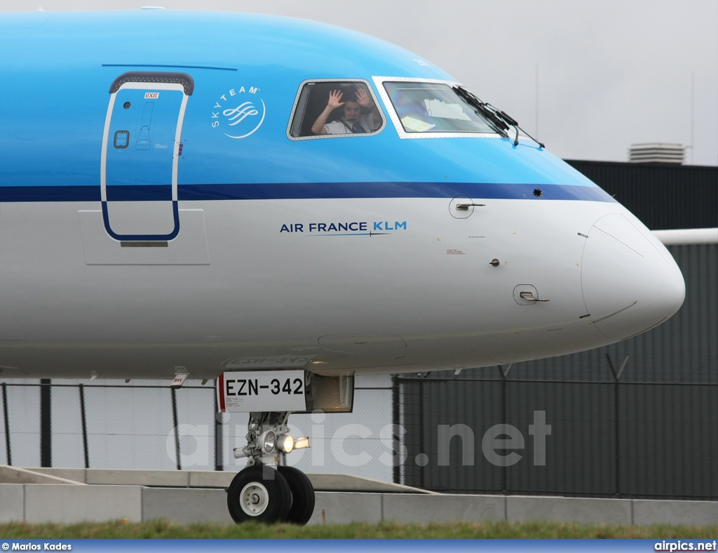 PH-EZN, Embraer ERJ 190-100STD (Embraer 190), KLM Cityhopper