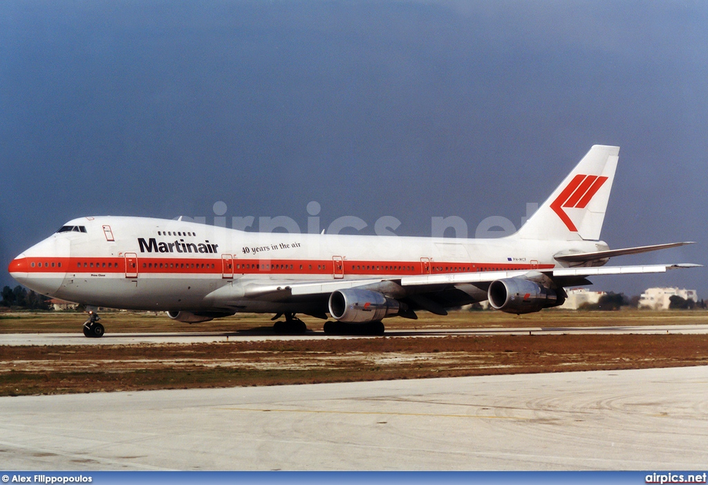 PH-MCF, Boeing 747-200C(SCD), Martinair