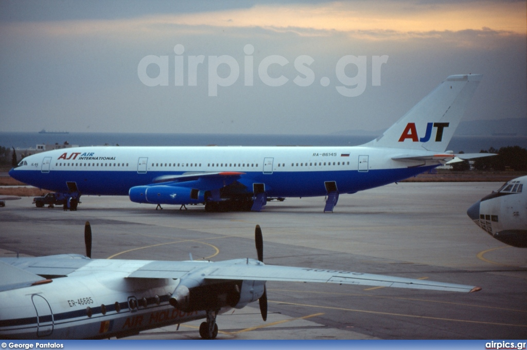 RA-86145, Ilyushin Il-86, AJT Air International