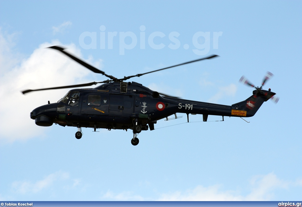 S-191, Westland Superlynx Mk.90B, Royal Danish Navy