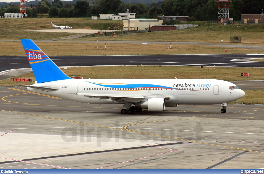 S9-TOP, Boeing 767-200ER, Hewa Bora Airways