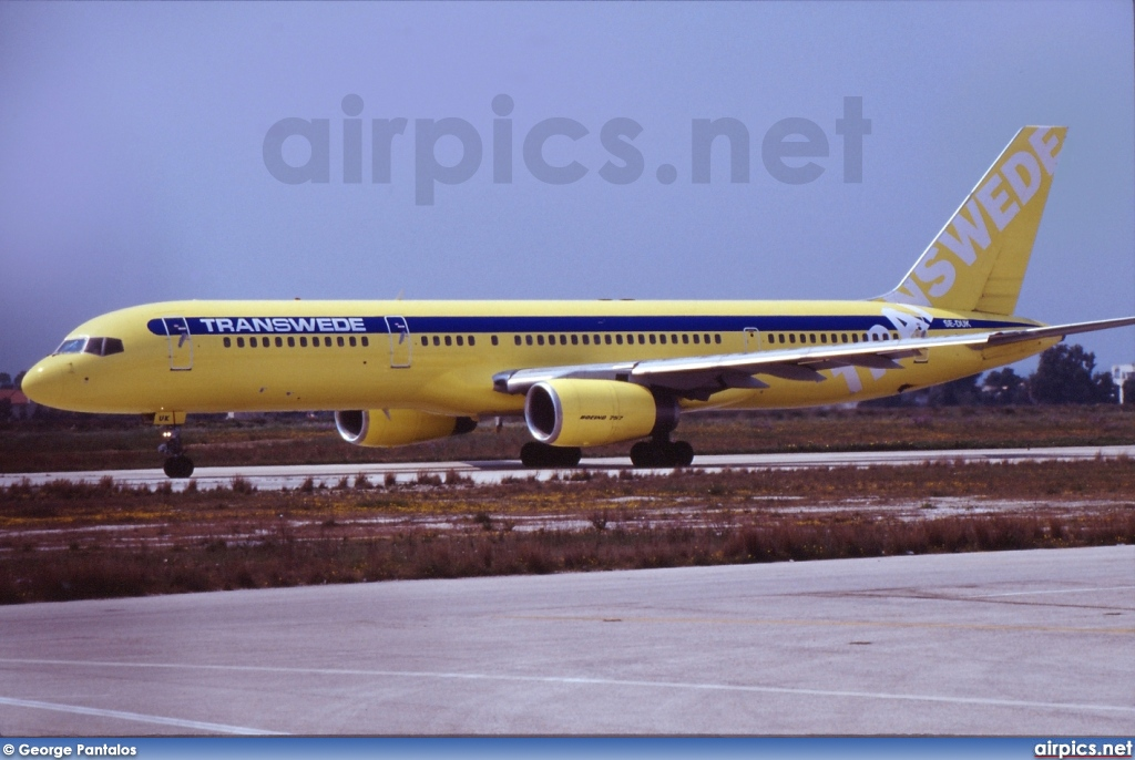 SE-DUK, Boeing 757-200, Transwede Airways