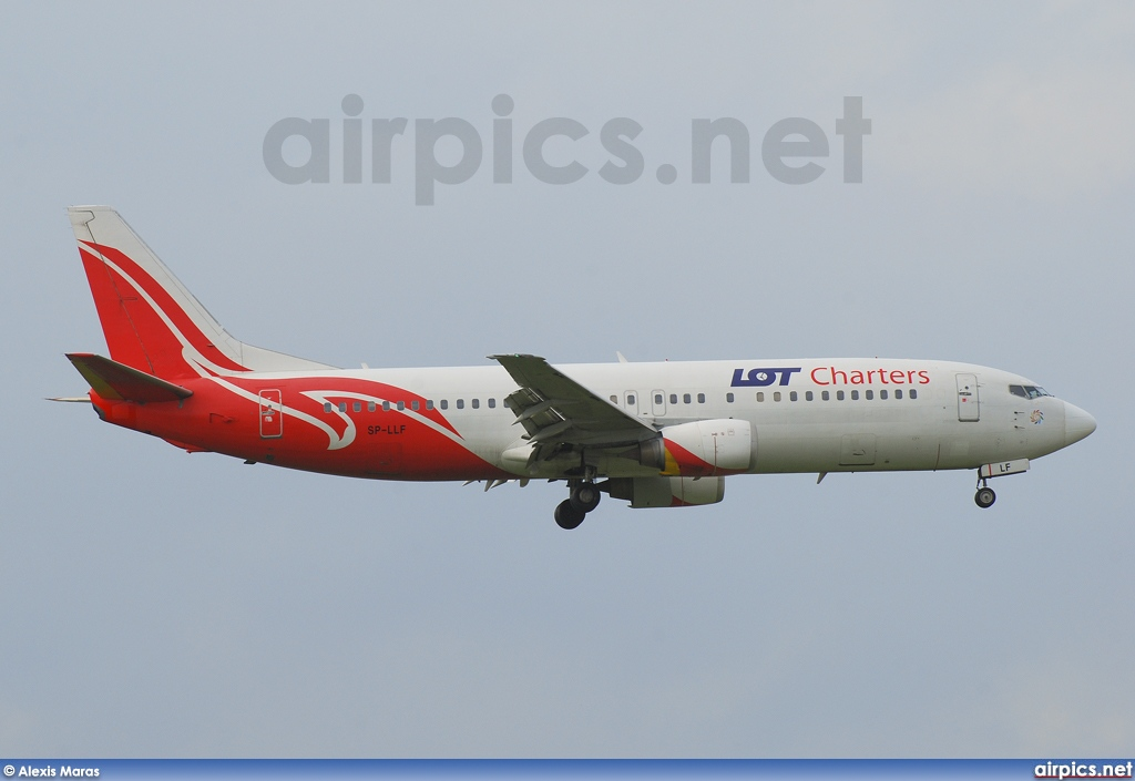 SP-LLF, Boeing 737-400, LOT Charters