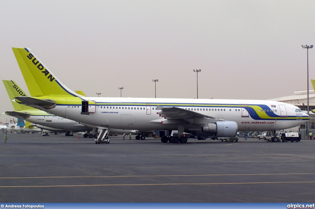 ST-ATB, Airbus A300B4-600R, Sudan Airways