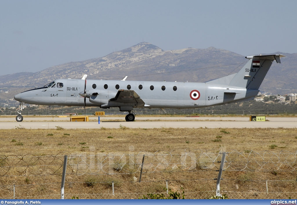SU-BLA, Beechcraft 1900-C, Egyptian Air Force