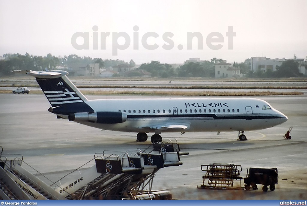 SX-BAR, BAC 1-11 200AU, Hellenic Airlines