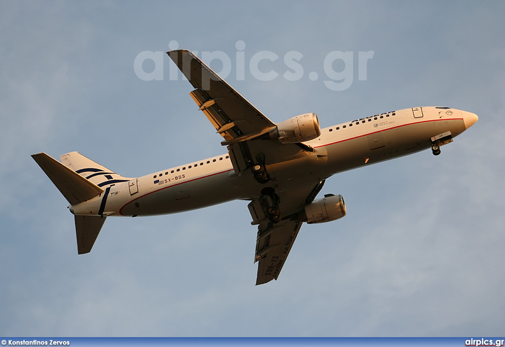 SX-BGS, Boeing 737-400, Aegean Airlines