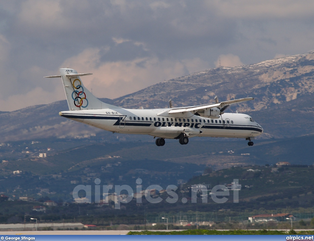 SX-BIK, ATR 72-200, Olympic Airlines