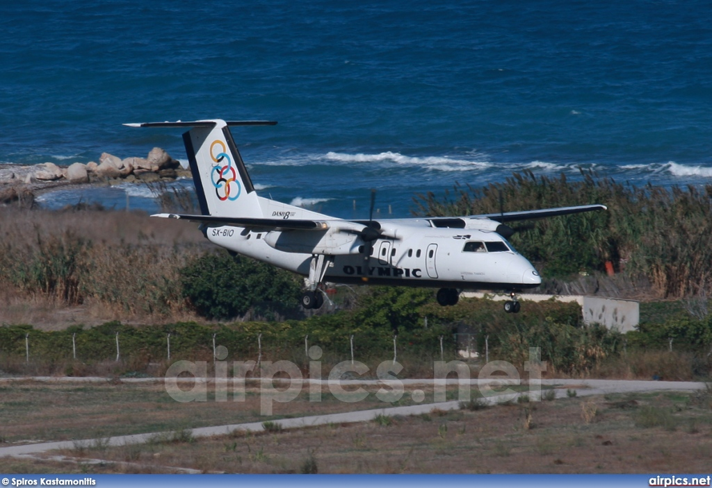 SX-BIO, De Havilland Canada DHC-8-100 Dash 8, Olympic Airlines