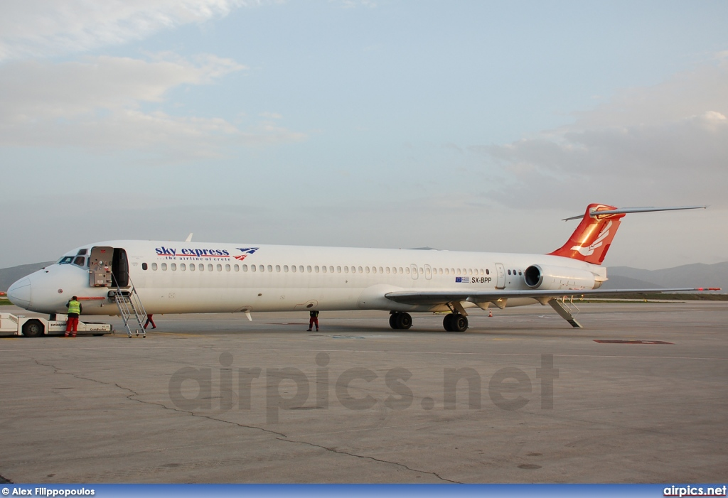 SX-BPP, McDonnell Douglas MD-83, Sky Express (Greece)