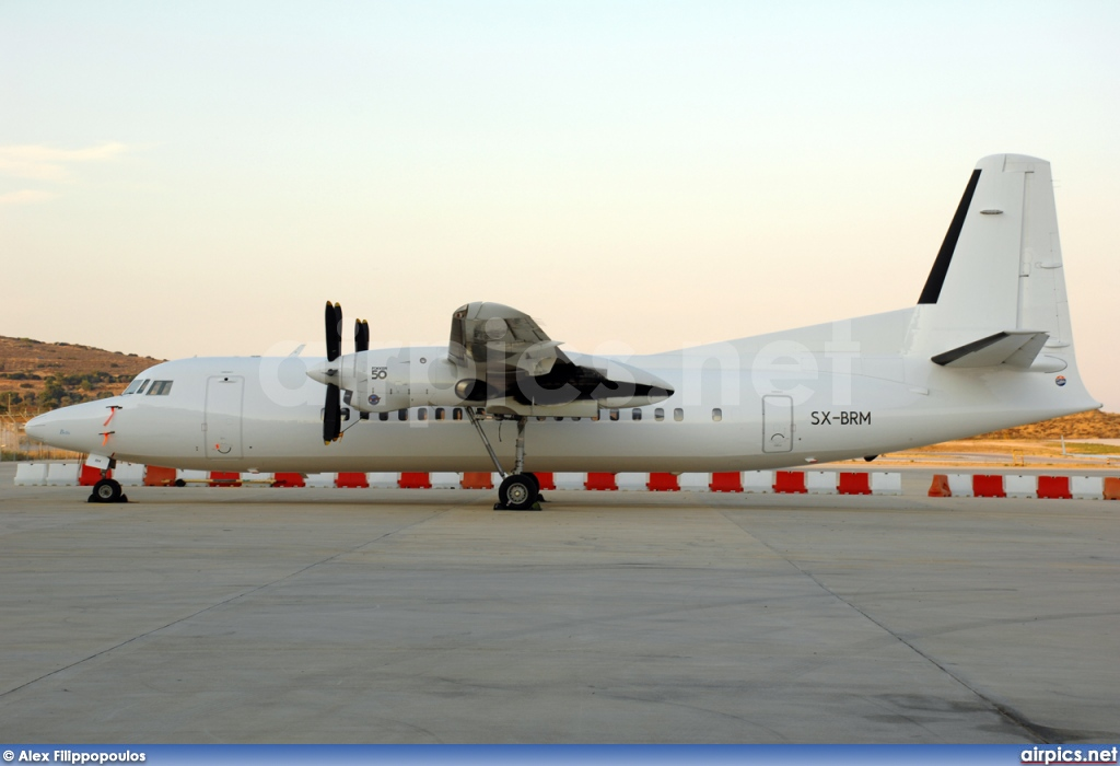 SX-BRM, Fokker 50, Untitled