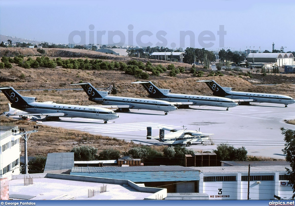 SX-CBA, Boeing 727-200, Olympic Airways