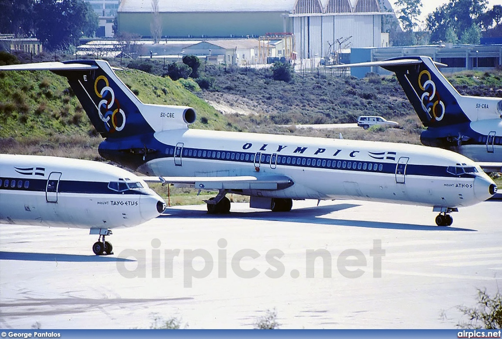 SX-CBE, Boeing 727-200, Olympic Airways