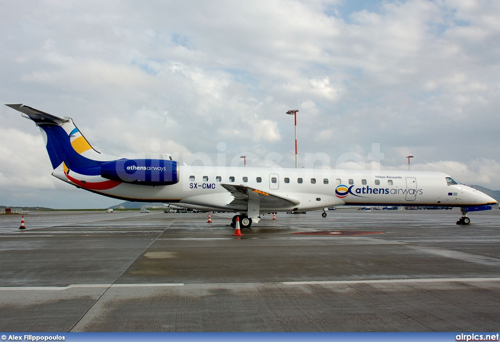 SX-CMC, Embraer ERJ-145EU, Athens Airways