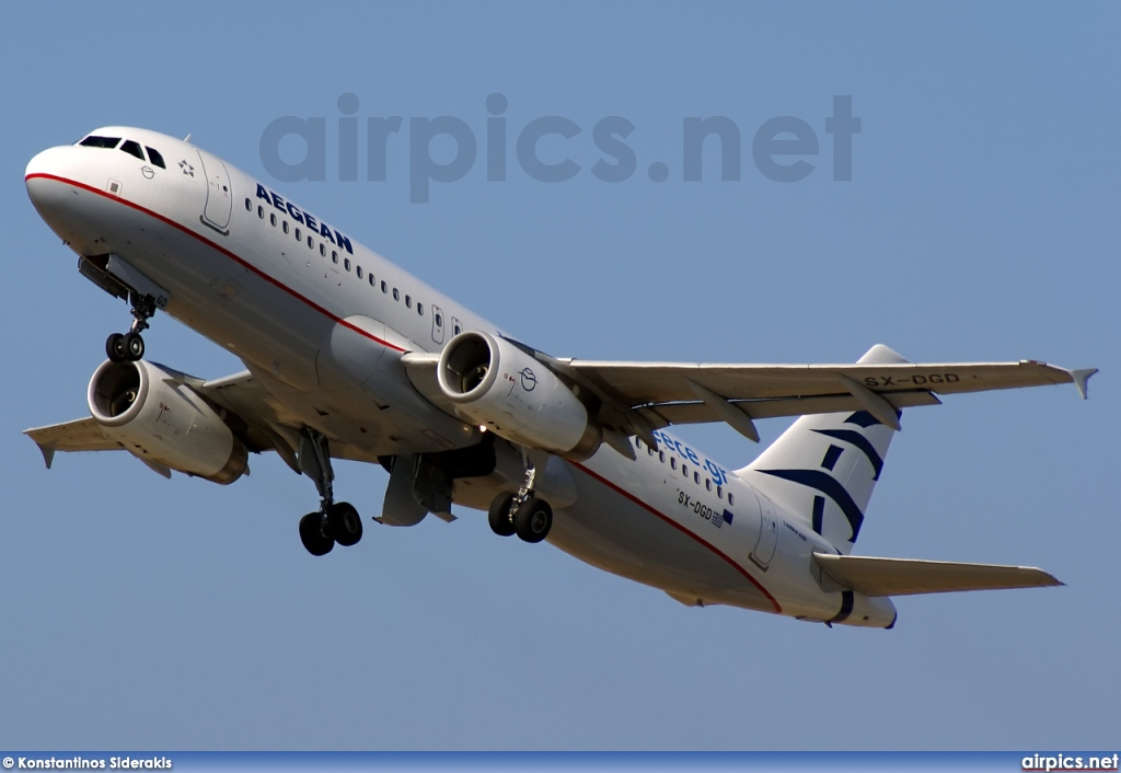 SX-DGD, Airbus A320-200, Aegean Airlines