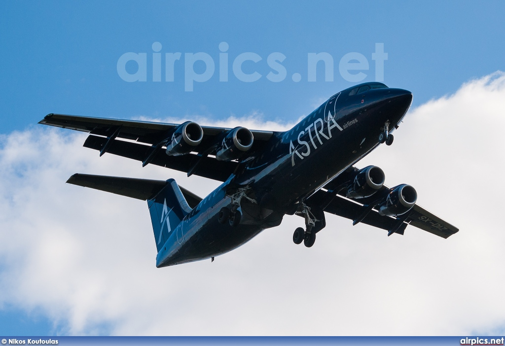 SX-DIZ, British Aerospace BAe 146-300, Astra Airlines