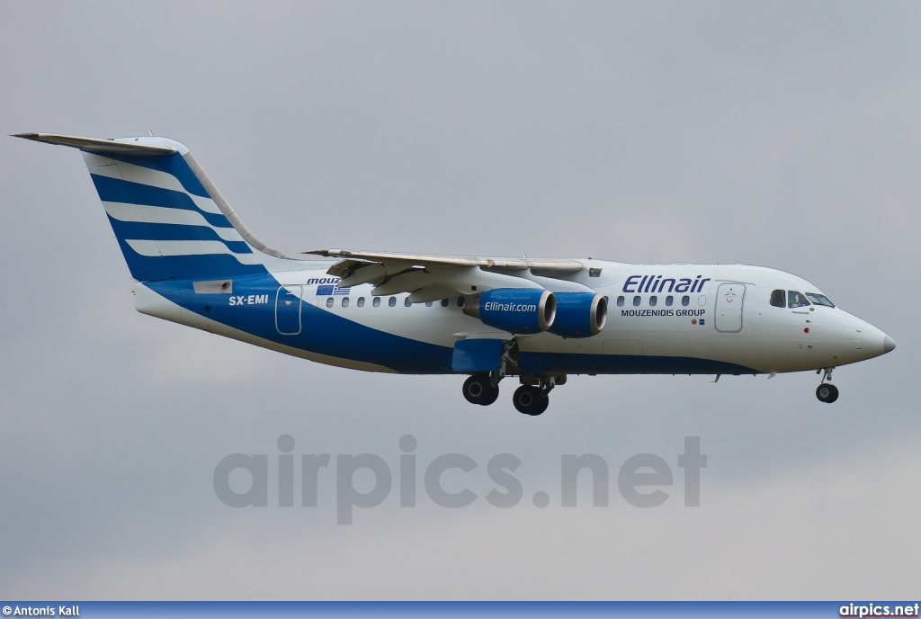 SX-EMI, British Aerospace Avro RJ85, Ellinair