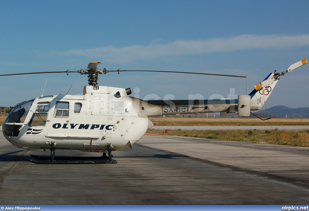SX-HET, MBB Bo 105-CBS-5, Olympic Aviation