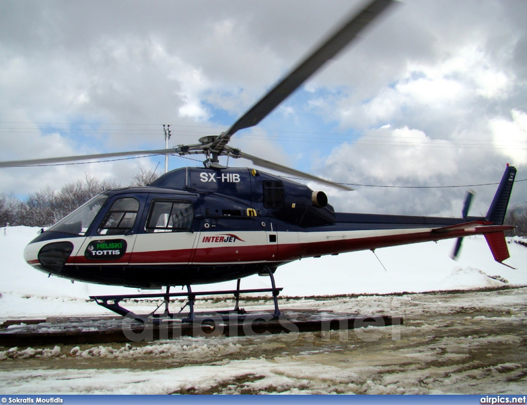 SX-HIB, Aerospatiale (Eurocopter) AS 355-N Ecureuil 2, Interjet
