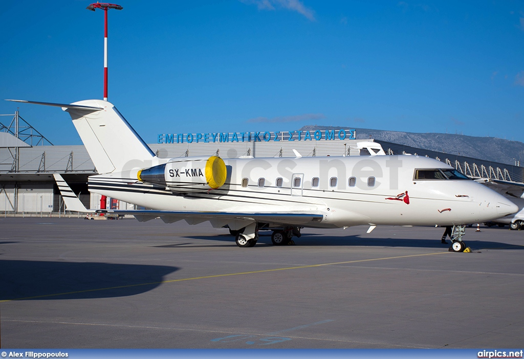 SX-KMA, Bombardier Challenger 600-CL-604, GainJet Aviation