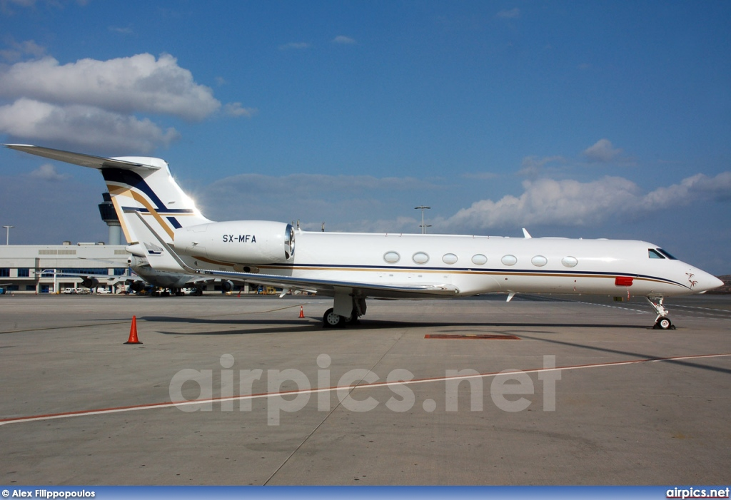 SX-MFA, Gulfstream G550, GainJet Aviation