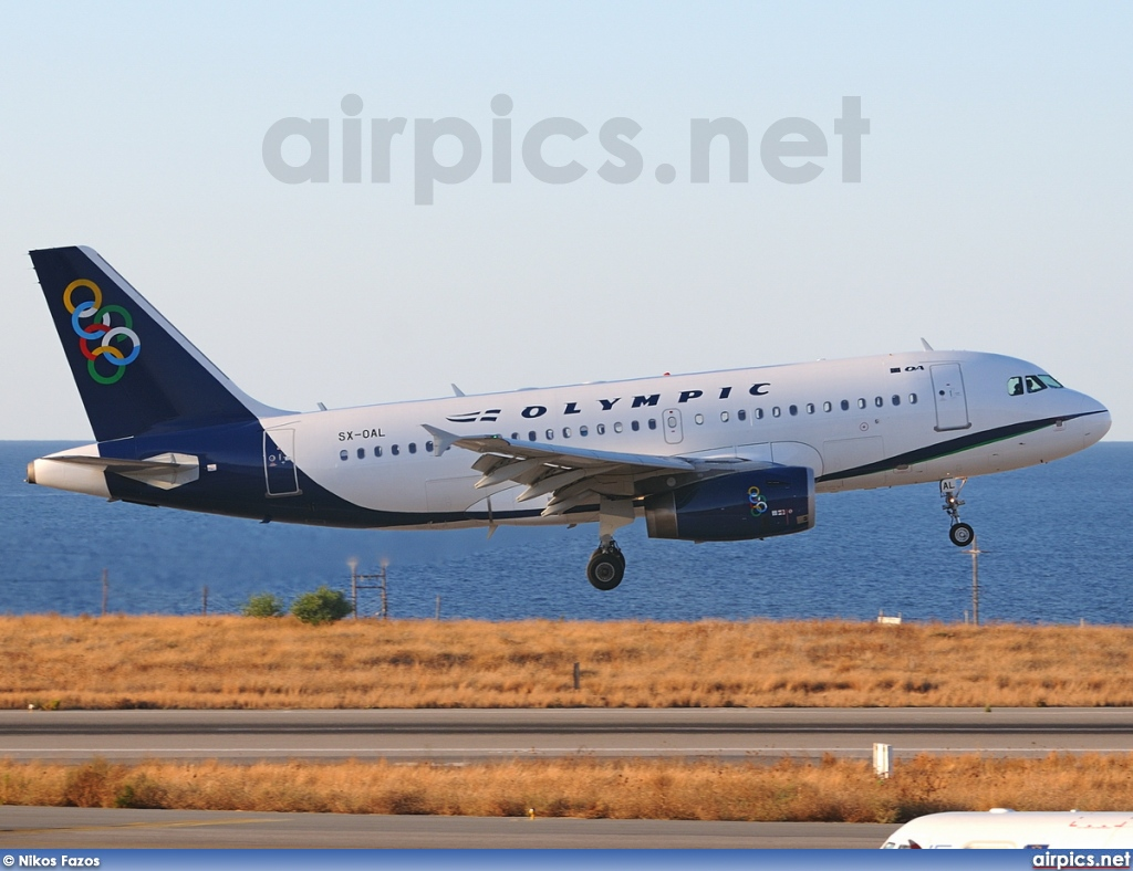 SX-OAL, Airbus A319-100, Olympic Air
