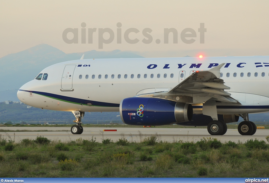 SX-OAP, Airbus A320-200, Olympic Air