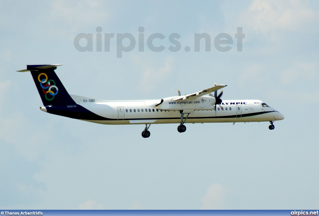 SX-OBD, De Havilland Canada DHC-8-400Q Dash 8, Olympic Air
