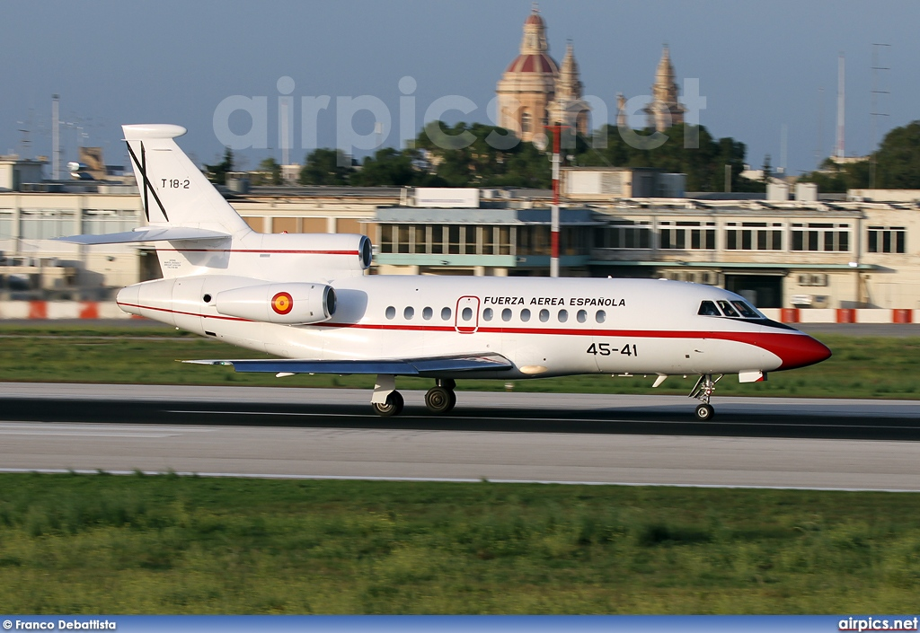 T.18-2, Dassault Falcon-900B, Spanish Air Force