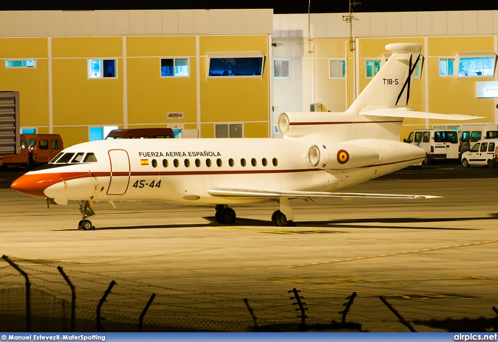 T.18-5, Dassault Falcon-900B, Spanish Air Force