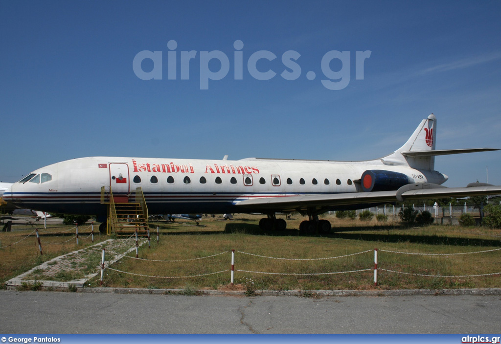 TC-ABA, Sud Aviation SE-210-Caravelle 10R , Istanbul Airlines