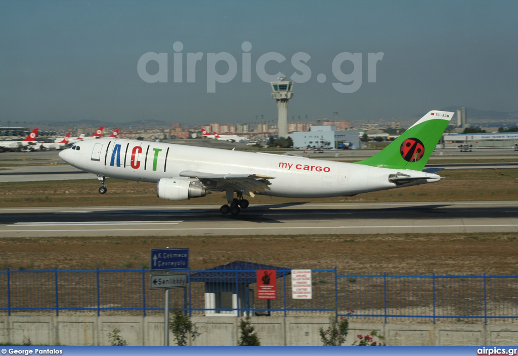 TC-ACB, Airbus A300B4-200F, ACT Airlines