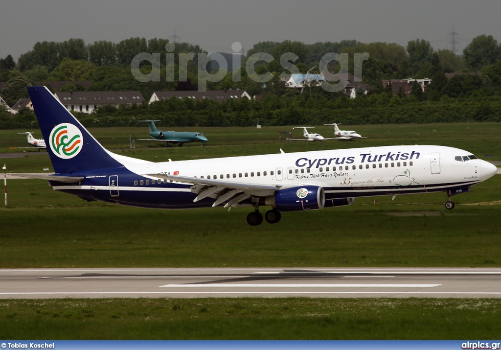 TC-CTA, Boeing 737-800, Cyprus Turkish Airlines
