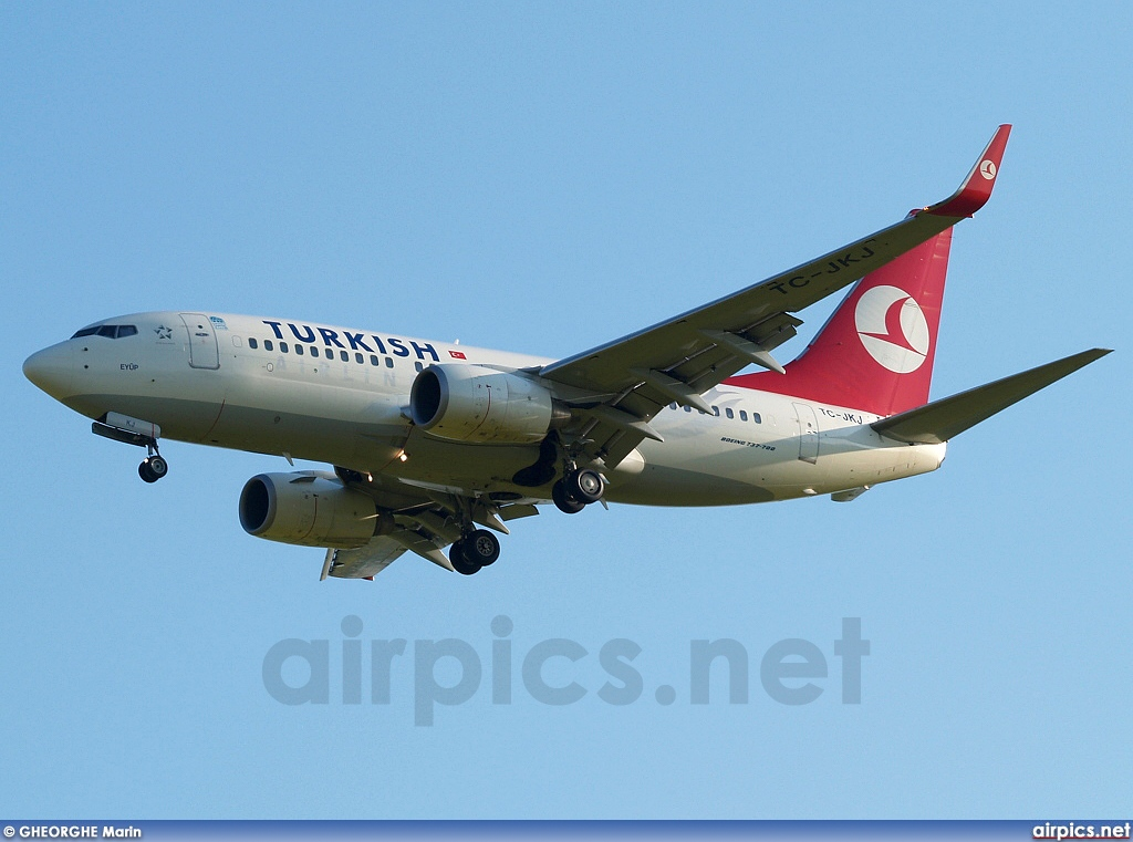 TC-JKJ, Boeing 737-700, Turkish Airlines