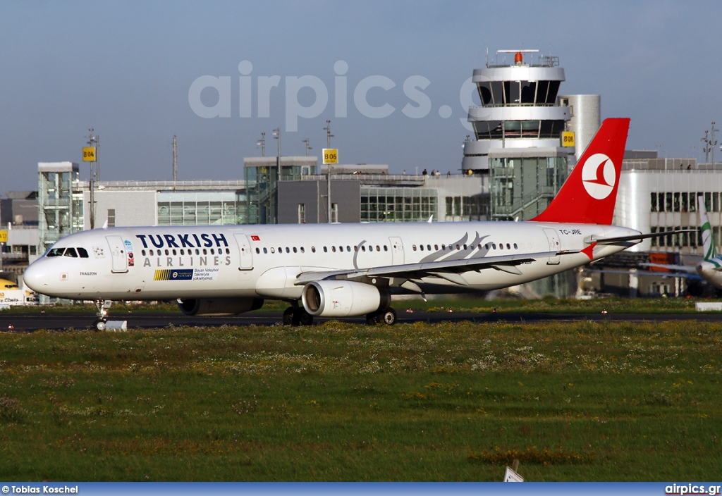 TC-JRE, Airbus A321-200, Turkish Airlines