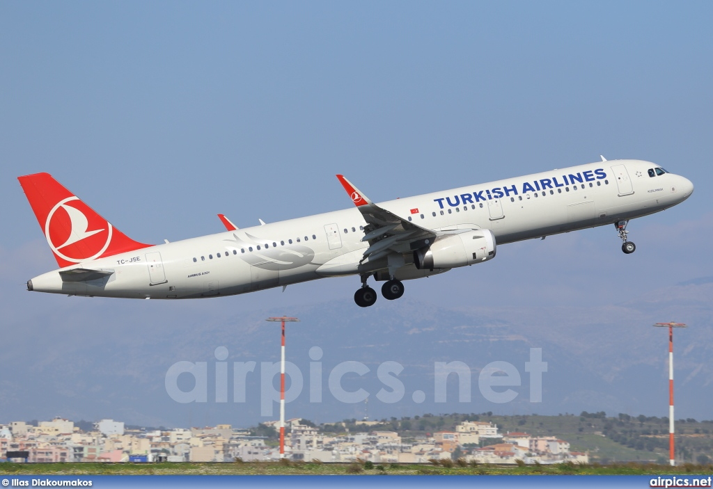 TC-JSE, Airbus A321-200, Turkish Airlines