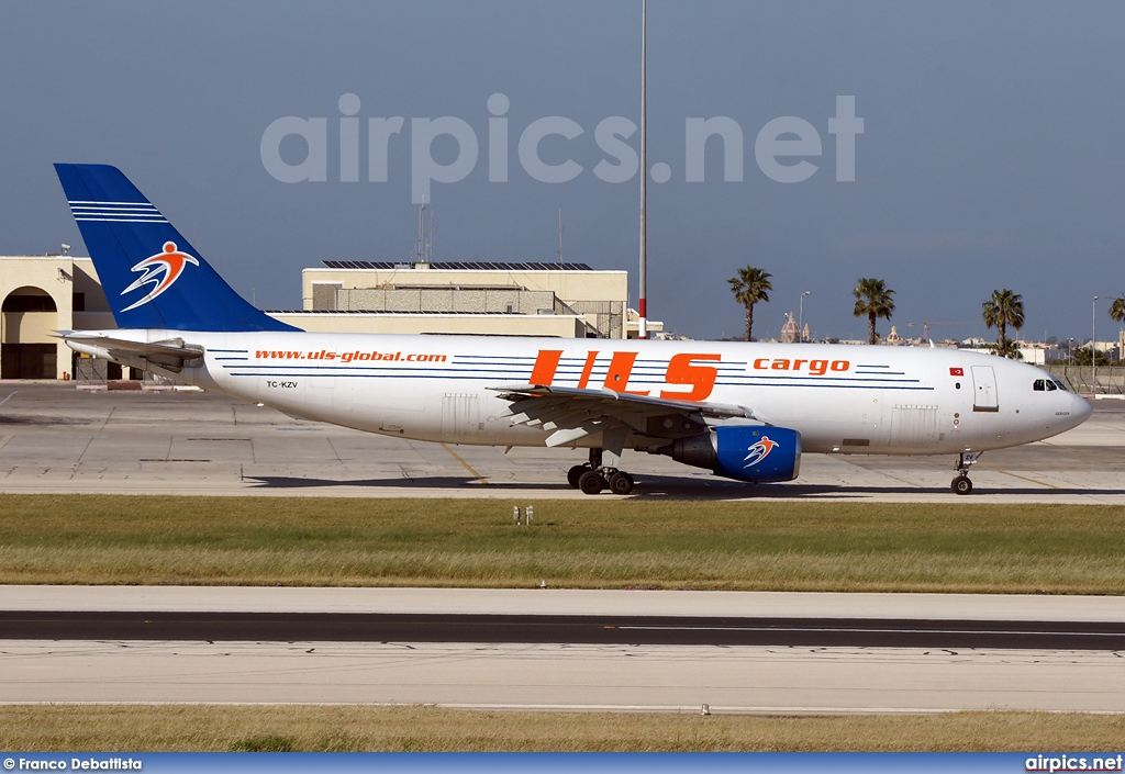 TC-KZV, Airbus A300B4-100F, ULS Airlines Cargo