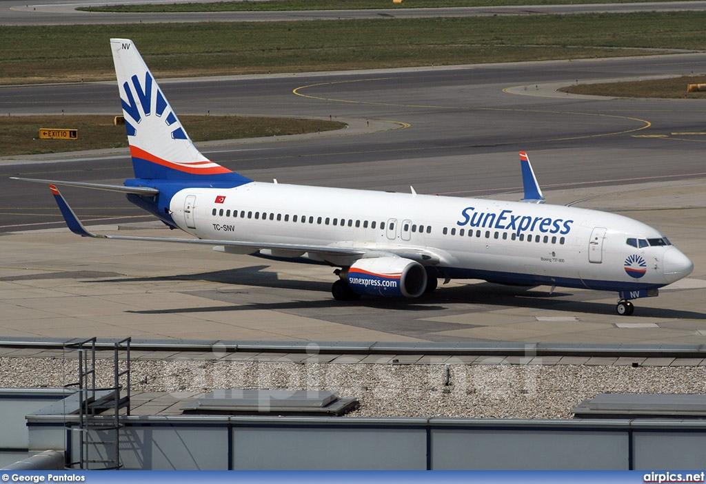 airpics.net - TC-SNV, Boeing 737-800, SunExpress - Large size