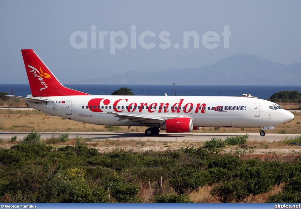 TC-TJC, Boeing 737-400, Corendon Airlines