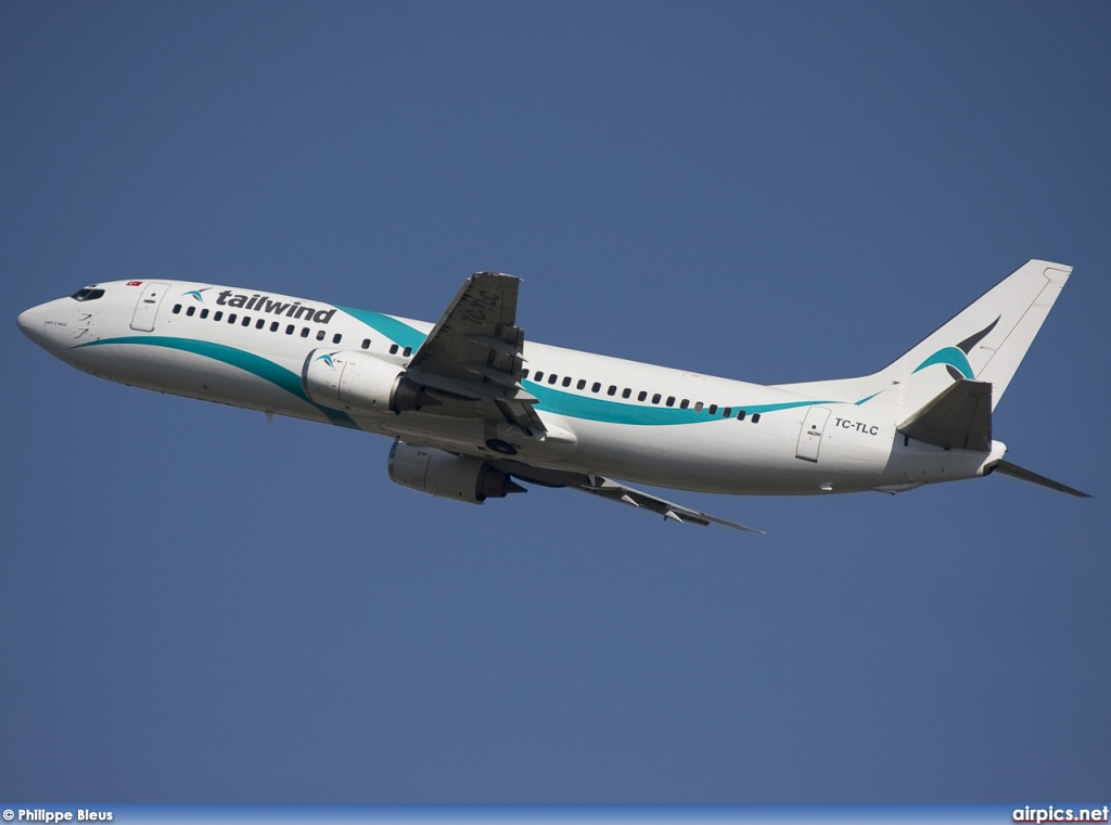 TC-TLC, Boeing 737-400, Tailwind Airlines
