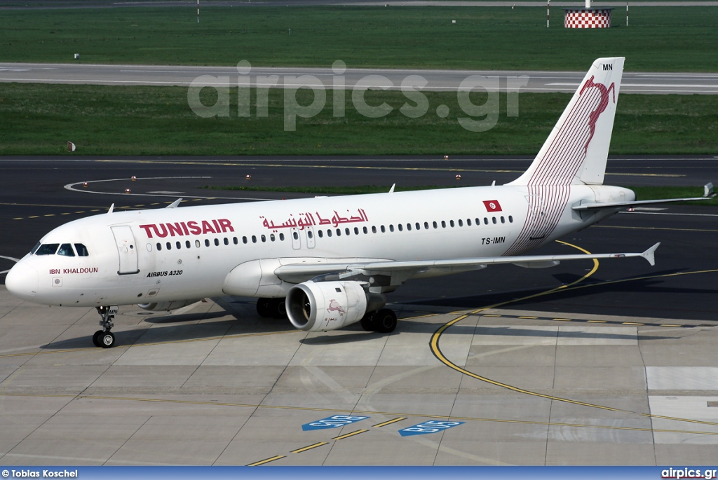 TS-IMN, Airbus A320-200, Tunis Air