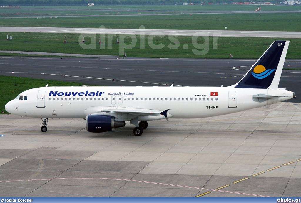 TS-INF, Airbus A320-200, Nouvelair