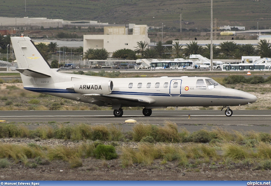 U.20-2, Cessna 550 Citation II, Spanish Air Force