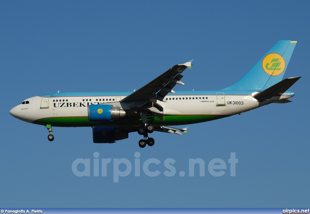 UK-31003, Airbus A310-300, Uzbekistan Airways