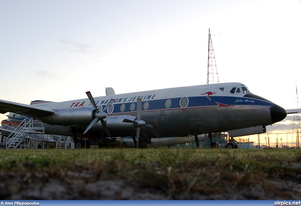VH-TVR, Vickers Viscount 700, Trans Australia Airlines