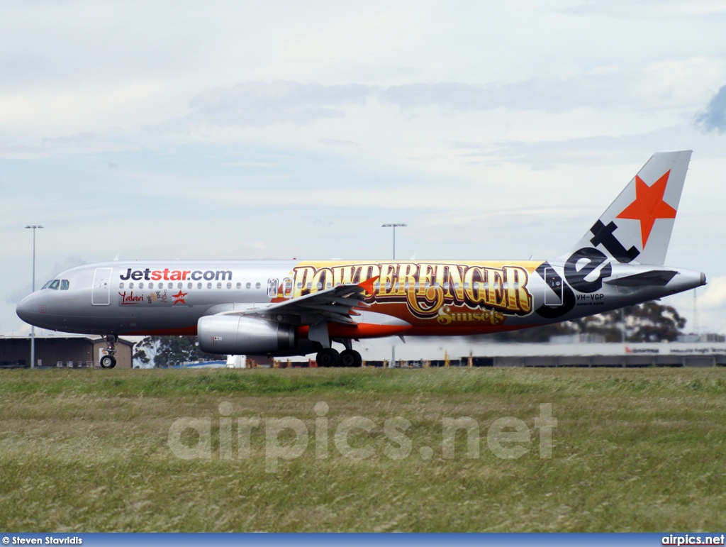 VH-VGP, Airbus A320-200, Jetstar Airways