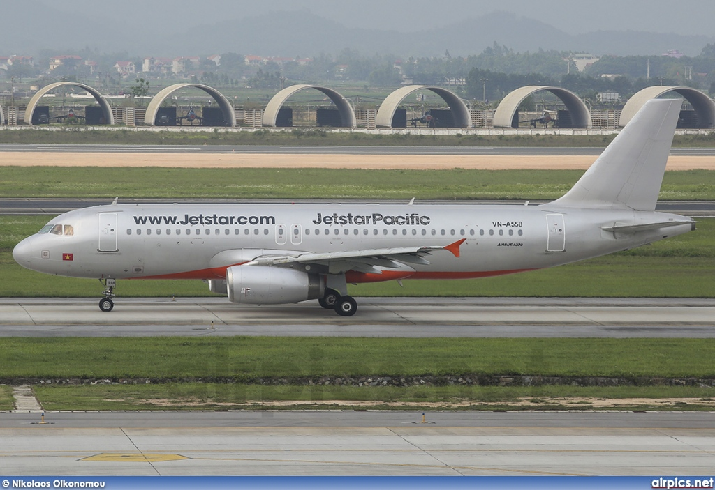 VN-A558, Airbus A320-200, Jetstar Airways