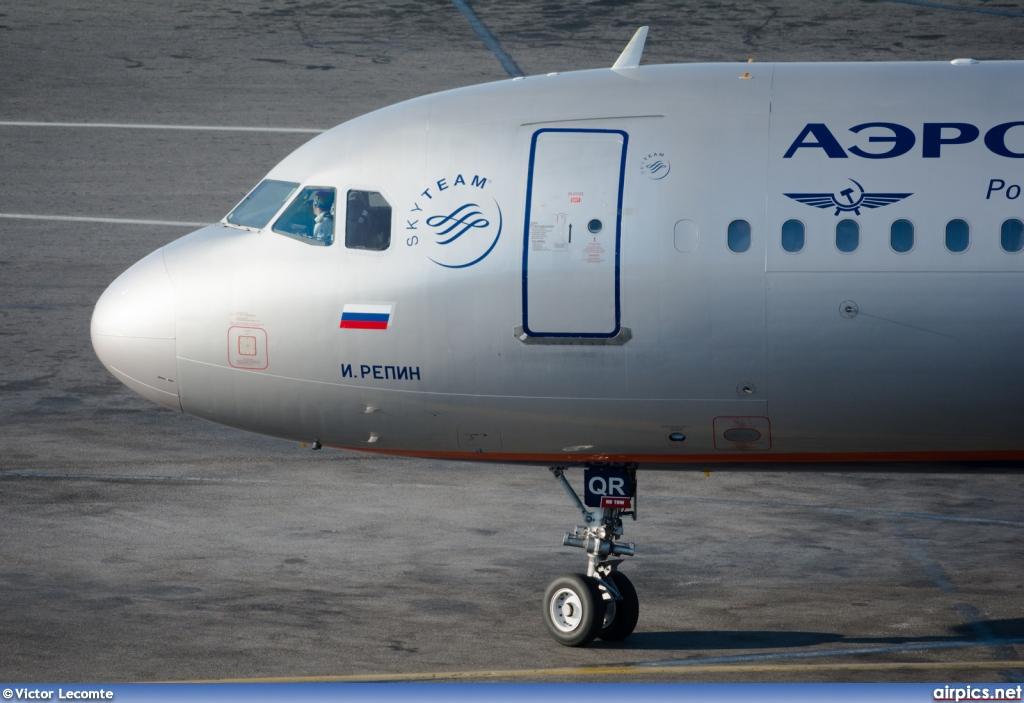VP-BQR, Airbus A321-200, Aeroflot.
