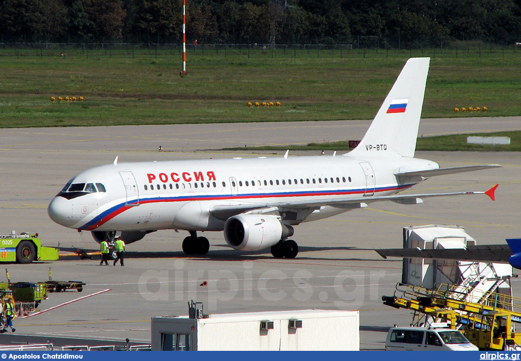 VP-BTQ, Airbus A319-100, Rossiya Airlines