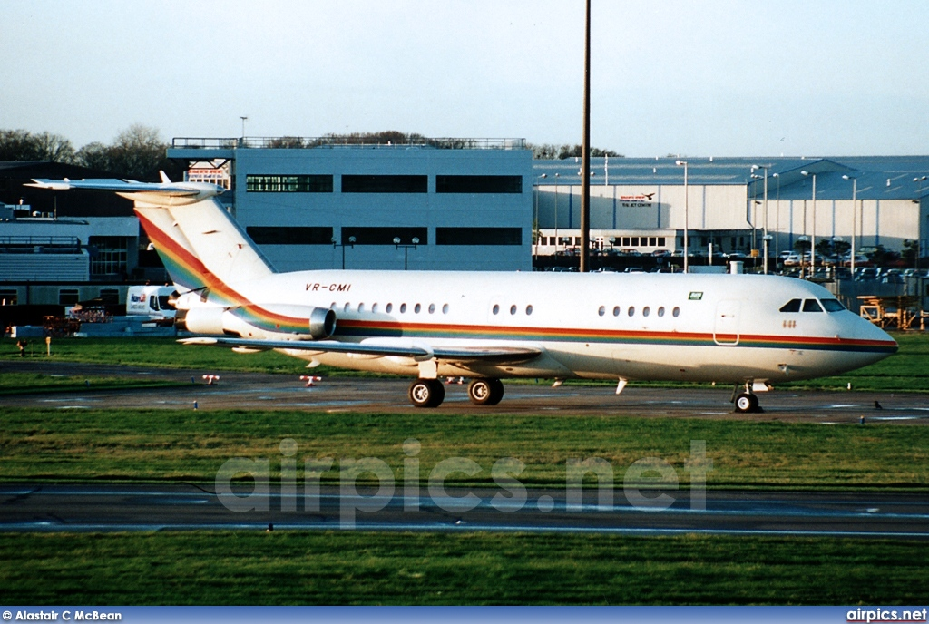 VR-CMI, BAC 1-11 200AR, Ashmawi Aviation